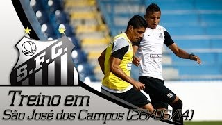 Santos FC em São José dos Campos - Dia de treinos (26/06/2014)