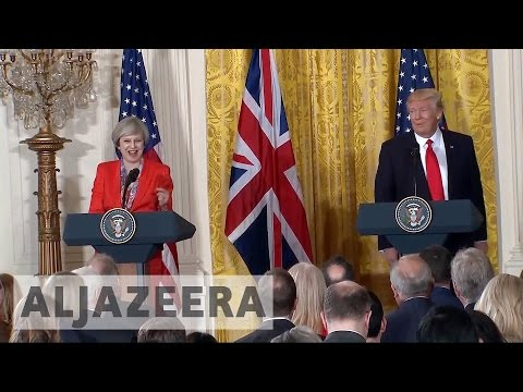 British PM first foreign leader to visit Trump