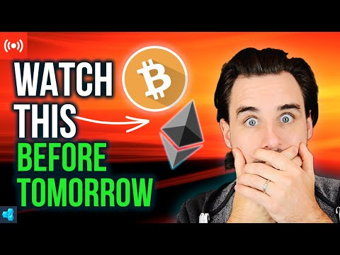🔴LIVE: MAJOR Crypto Update | Watch before tomorrow!