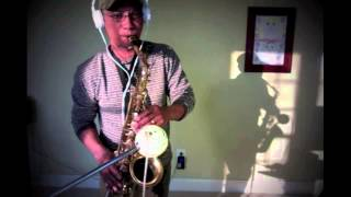 "The Bee Gees - ""I Started A Joke"" - (saxophone cover)"