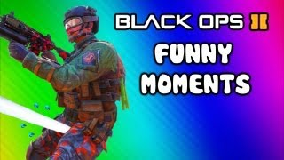 Black Ops 2 Funny Moments - Peeing, Phone Call, Takeoff Magic, AGR Mission, Guardian Club (Funtage)