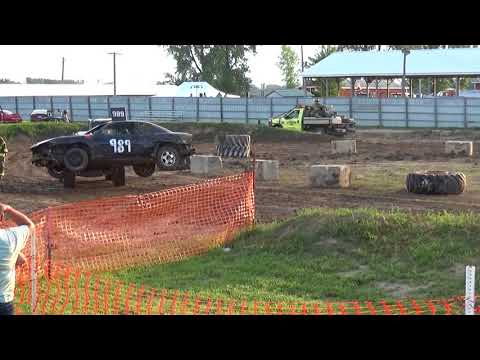 Arenac County fair 2018 Bump and Run (Stock) Heat 2 (8-4-2018)