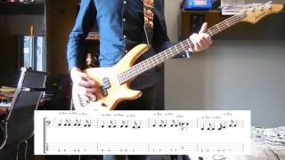 Royal Blood - Where Are You Now ? (Vinyl BO) Bass cover with tabs