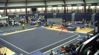 Mackenzie Myers competes Floor at 2013 Regionals 9.525 (5th)