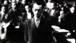 Descubra em um minuto como era ser julgado em um tribunal na Alemanha Nazista
