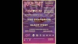 THE DELFONICS AND BLACK IVORY LIVE SOULFEST AUGUST 6TH 2016 AT THE 333LIVE DTLA