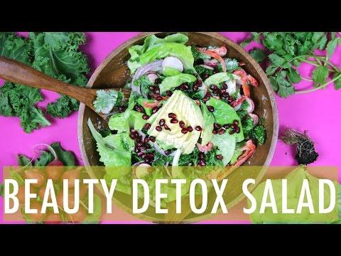 BEAUTY DETOX SALAD | Healthy Salad Recipes