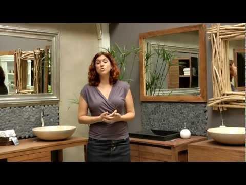 ארונות חדר אמבטיה מעץ מלא