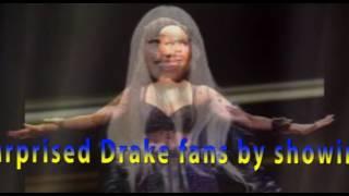 Drake Brings Out Nicki Minaj for First Live Performance of 'No Frauds'