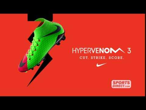 sportsdirect.com & Sports Direct Discount Code video: Nike Hypervenom 3 - SportsDirect