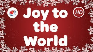 Joy to the World with Lyrics | Christmas Carols | Children Love to Sing | Best Christmas Music