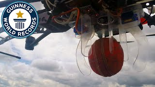The highest cricket ball catch of all time - Guinness World Records