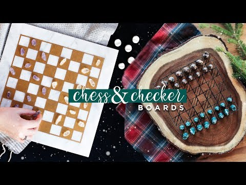 DIY Aesthetic Chess and Checkers!