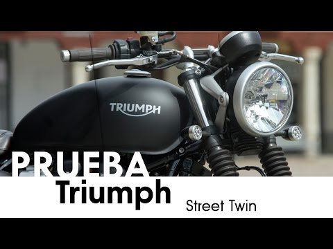 Triumph Street Twin - videoprueba - castellano - 2016