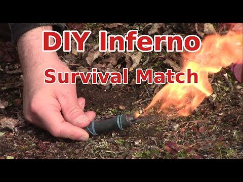 Make Your Own Survival INFERNO matches