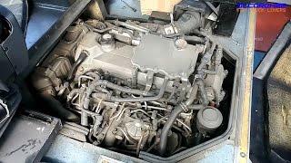 Hino J07E Euro5 Engine View