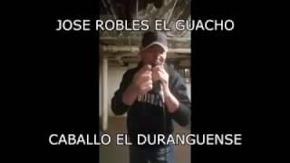 Jose Robles El Guacho - Caballo El Duranguense
