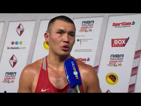 Интервью ЧМ-2017 Кункабаев +91 кг