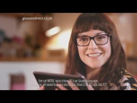 Glasses Direct TV Advert Jan-16