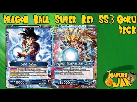 Red SS3 Goku Dragon Ball Super Deck Profile!