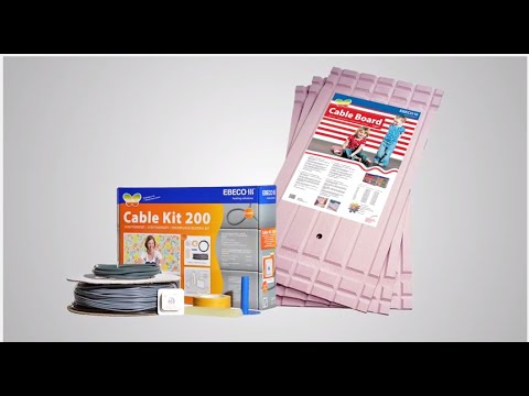 Ebeco Cable Kit -Underfloor Heating