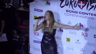 ESCKAZ in Moscow: Valentina Monetta (San Marino) - Maybe