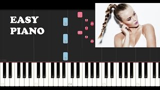 Zara Larsson - I can't fall in love without you (EASY Piano Tutorial)