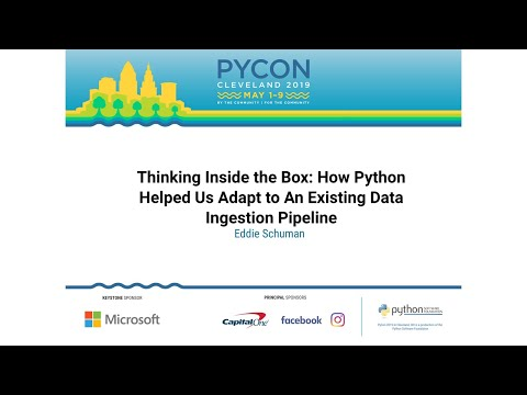 Thinking Inside the Box: How Python Helped Us Adapt to An Existing Data Ingestion Pipeline
