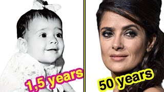 Salma Hayek Through The Years in 60 seconds