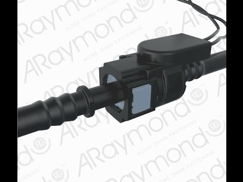 ARaymond™ Heated backpack for Quick Connector