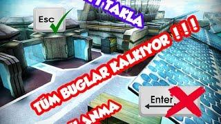 BÜTÜN BUGLAR KALKIYOR . ENTER , CİFT TAKLA , IŞINLANMA HEPSİ KALKIYOR !!!