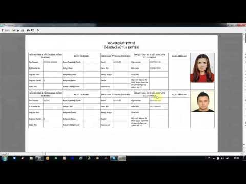 Hursoft Öğrenci Takip Programı (Kartlı - Parmak İzli Geçiş Sistemi)