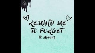 Kygo Ft. Miguel Remind Me To Forget Lyrics