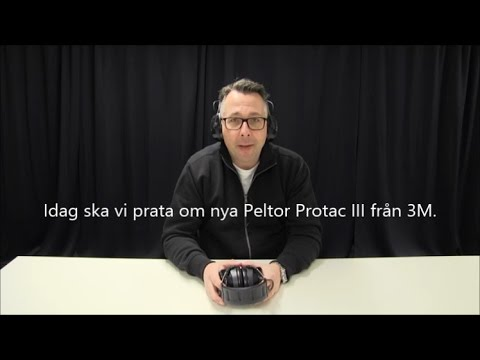 Hörselkåpa Peltor Protac III