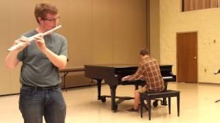 Happy Birthday Flute and Piano
