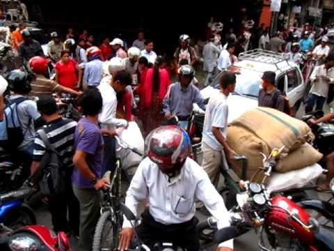 Nepal traffic jam 1