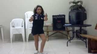 Princesa Melissa dançando