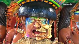 Desfile da Unidos de Vila Maria no Carnaval 2016