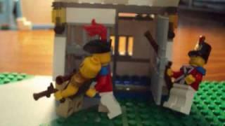 LEGO: Pirate on base!