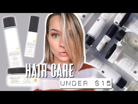 NEW Hair Care Products Under $15 - Kristin Ess Review - Kayley Melissa
