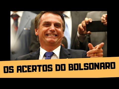 VAMOS FALAR DOS ACERTOS DO BOLSONARO?!