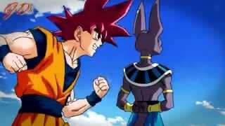 "Goku SSJ God vs Bill [AMV] [Dragon Ball Super] ""Painkiller"""