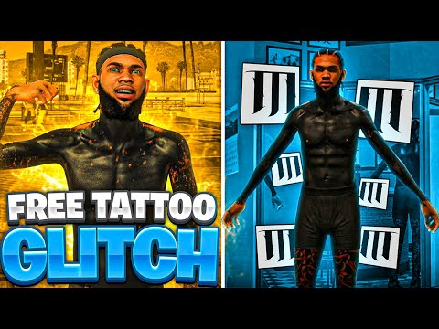 HOW TO GET UNLIMITED TATTOOS 100% FREE!  NEW  TATTOO GLITCH NBA 2K21! LOOK LIKE A SWEAT IN NBA2K21!!