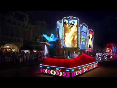 """Disney Hong Kong """"Electric Light Parade"""""""