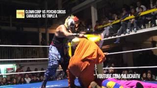 Resumen: Psycho Circus vs Clown Corp, en la Arena San Juan Pantitlán