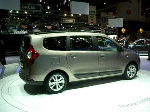 Dacia Lodgy Cenevre Otomobil Fuarı 2012