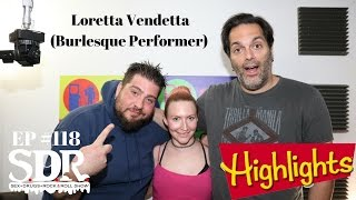 Loretta Vendetta disucsses Clone-A-Willys with Big Jay Oakerson & Ralph Sutton on SDR #118
