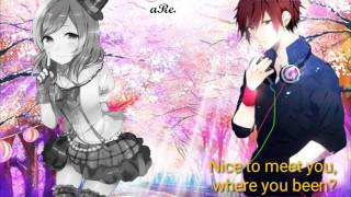 Nightcore - Blank Space [Switching Vocal] - [Lryics]