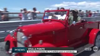 Viva a ponte: evento movimenta R$1,2 milhão para o comércio