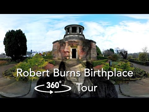 360 Video Tour: The Birthplace of a Genius